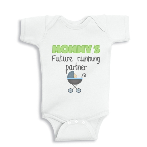 Mommy's future running partner boy